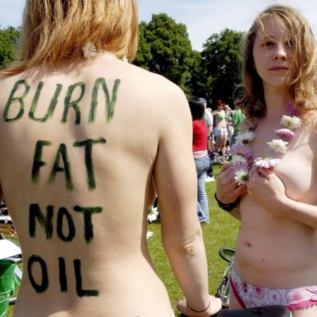 burn fat, not oil